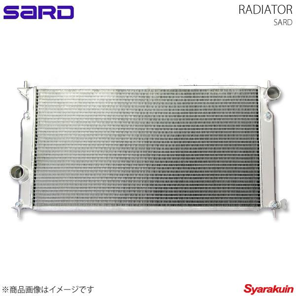SARD サード レーシングラジエター アルミ製 マークX GRX120 4GR-FSE
