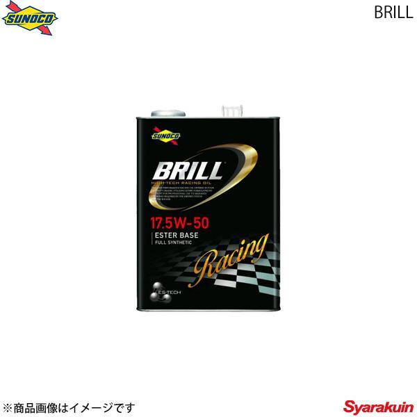 SUNOCO スノコ BRILLシリーズ エンジンオイル 17.5W-50 4L×4