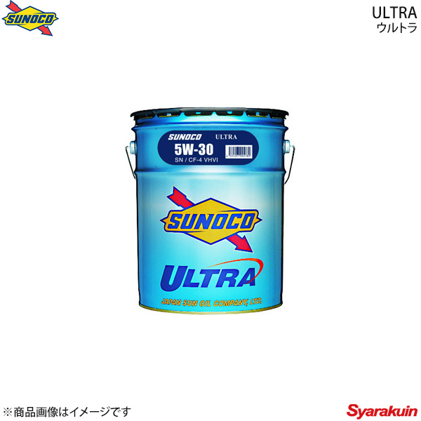 SUNOCO スノコ ULTRAシリーズ エンジンオイル 5W-30 SN/CF4 20Lペール