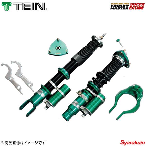 TEIN テイン 車高調 SUPER RACING 1台分 ランサーエボリューション10 CZ4A GSR/RS