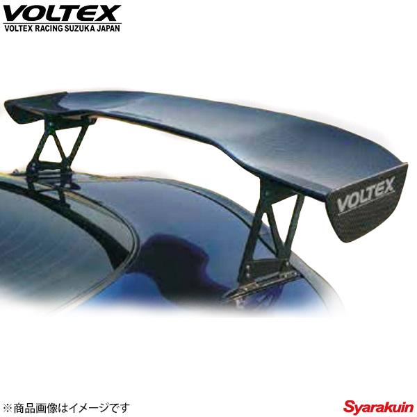 VOLTEX / ボルテックス GTウイング Type2 ウエット カーボン 1600mm × 300mm × 245mm エンドプレート:タイプB リアスポイラー ウイング