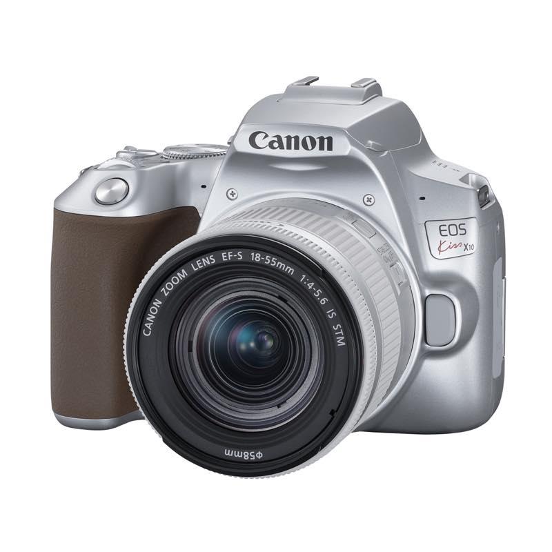 超爆安 EOS Kiss X10 EF-S18-55 IS STM レンズキット シルバー ◆ キャノン デジタル一眼レフカメラ Canon, ふげつ工房 3edf2954