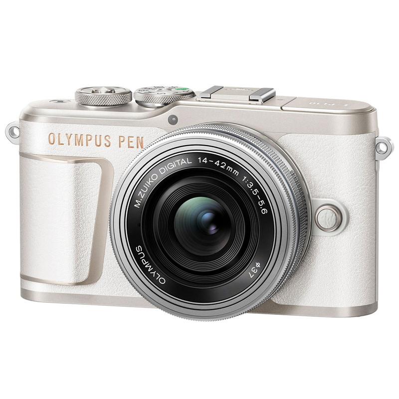 OLYMPUS PEN E-PL10 EZダブルズームキット [ホワイト] オリンパス ミラーレス一眼カメラ