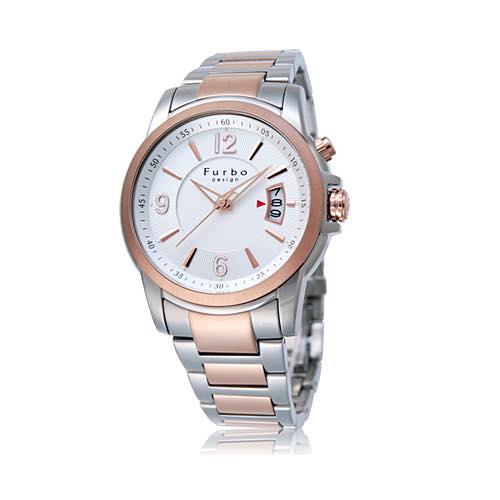 日本正規代理店品 F4006SIPG フルボ 5気圧 メンズ腕時計 開店記念セール 30m