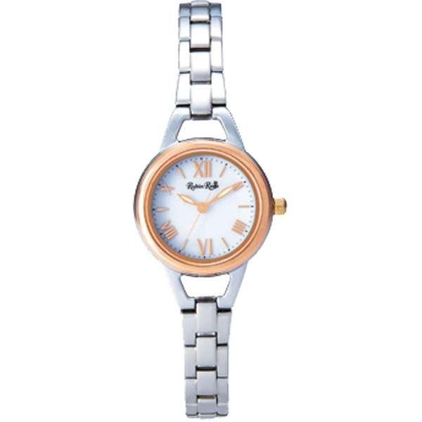 R016SOLTWH 人気の定番 本日限定 ルビンローザ Rubin Rosa 3気圧防水 レディース ウォッチ 腕時計 ソーラー