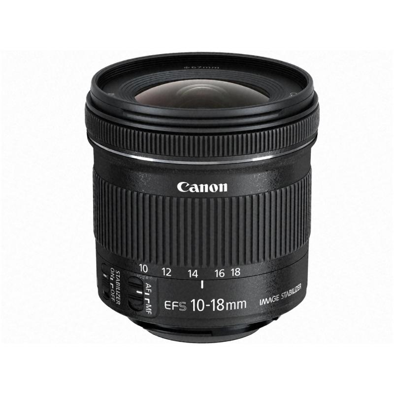 休日 EF-S10-18mm F4.5-5.6 IS 新作 STM キャノン 交換レンズ
