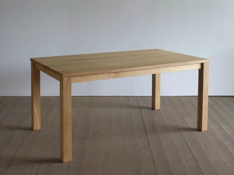 【送料無料/受注生産】 ダイニングテーブル オーク 幅130 2人用 二人用 無垢 天然木 木製 シンプル おしゃれ 北欧 リビングテーブル 食卓 食卓テーブル 大川家具 日本製 高級家具