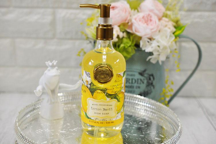 Michel Design Works ミッシェルデザインワークスデッシュソープ Dishwashing Liquid Fragrance Fresh Lemon Basil