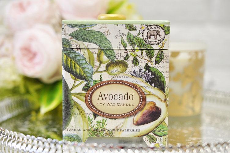 MICHEL DESIGN WORKS Michelle design works aroma candle fragrance: Her Baru  avocado