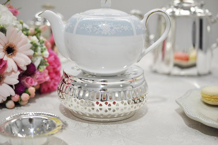 シルバー ティーウォーマー イタリア製 Royal Family ロイヤルファミリー テーブル キッチン雑貨 紅茶 ティーポット