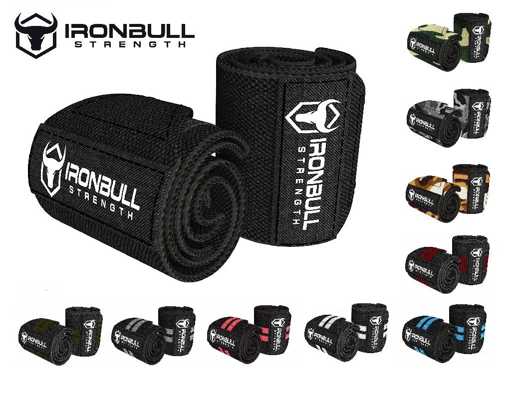 リストラップ(筋トレ 筋力トレーニング リフティング パワー ウエイト ウェイト トレーニング)Iron Bull Strength(アイアンブル・ストレングス)