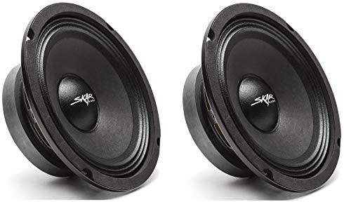 MID-レンジ ラウドスピーカー カースピーカー 2 Skar Audio 大特価!! FSX65-4 4オーム 2スピーカー ミッドレンジスピーカー スーパーセール期間限定 - 300ワット 6.5インチ