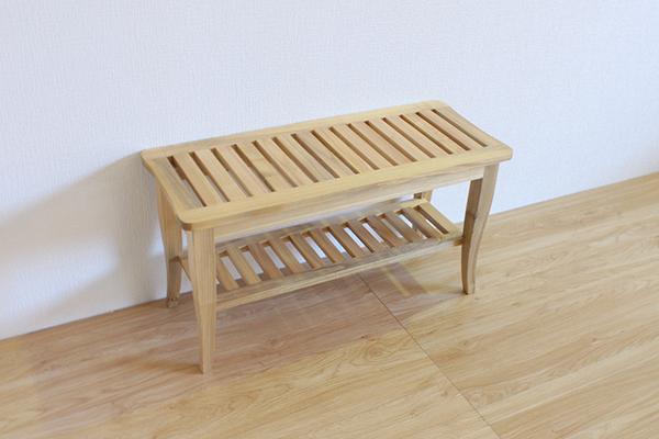 送料無料 ベンチ 2人掛け 無垢材 木製 椅子 イス いす 長椅子 2人用 ダイニングベンチ おしゃれ 北欧 モダン ミッドセンチュリー ナチュラル ウォールナット