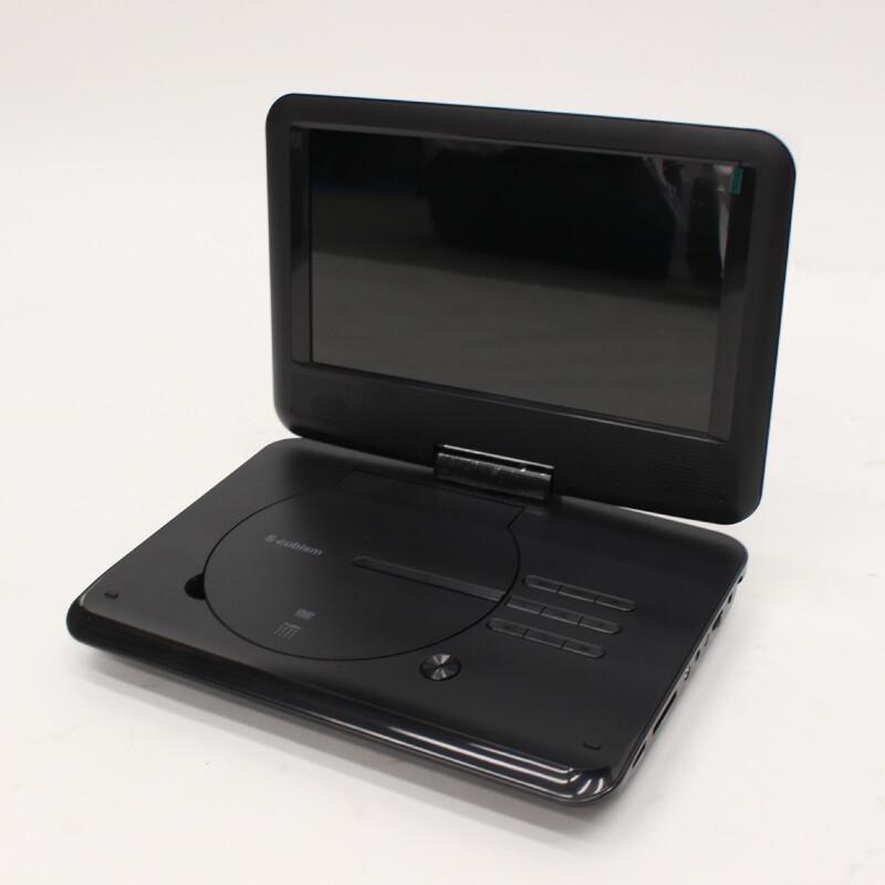 9インチポータブルDVDプレーヤー バッテリー式 APD-0901BT 6点