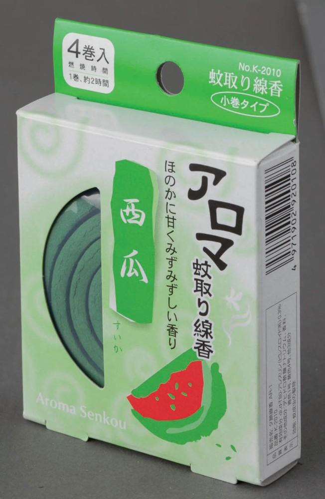 アロマ蚊取り線香 西瓜(すいか) K-2010