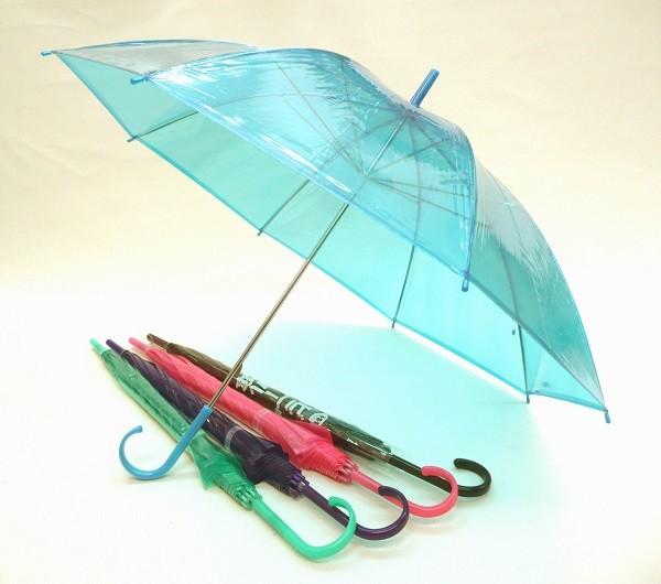 60本セット カラー5色アソート 50cm ビニール傘
