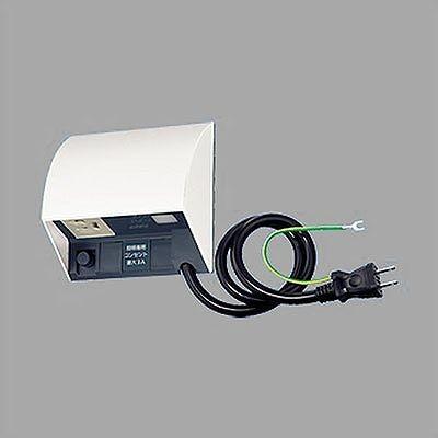 スマート電子EEスイッチ付フル接地防水コンセント タイマ連動コンセント ホワイト EE45534W