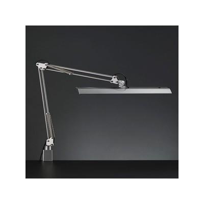 LEDスタンドライト クランプ式 白熱灯150W相当 調光機能付 シルバー 《Zライト》 Z-11NSL