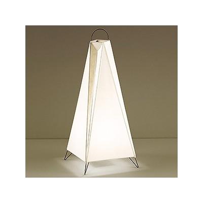 LEDランプ交換型スタンドライト 非調光 白熱60W相当 電球色 E26口金 ランプ・中間スイッチ付 FD-4171-L