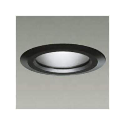ベースダウンライト 軒下用 ランプ交換型 ランプ付 防滴形 40W形 LED電球7.1W E26 電球色 黒 LZW-90434YB