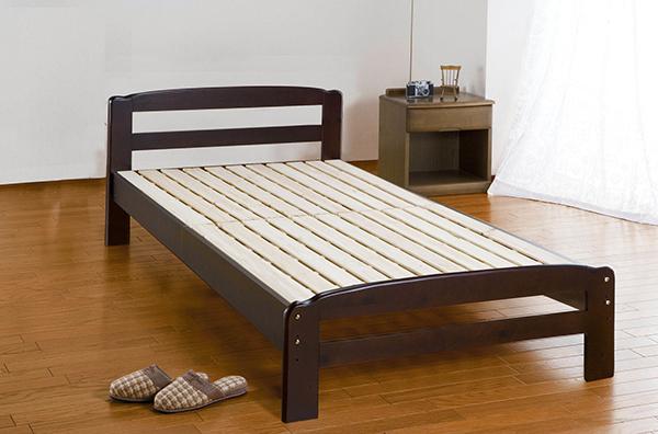 パインすのこベッド シングル ベッドフレーム単品 木製 高さ調整 スノコベット シングルベッド おしゃれ 北欧 モダン シンプル