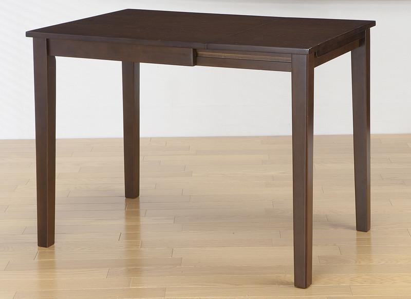 コンパクト片バタダイニングテーブル 単品 バタフライテーブル 机 ダイニングテーブル 2人 4人掛け 作業台 折りたたみ テーブル 折り畳み 木製 カフェ 西海岸 ミッドセンチュリー おしゃれ