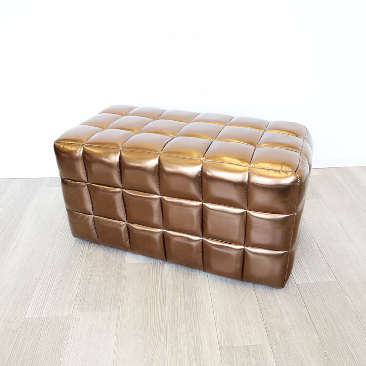 送料無料 モダンテイスト オットマン スツール 椅子 チェアー デザイナー 腰掛け いす 椅子 チェアー 玄関 キッチン リビング おしゃれ レトロ アンティーク クラシック