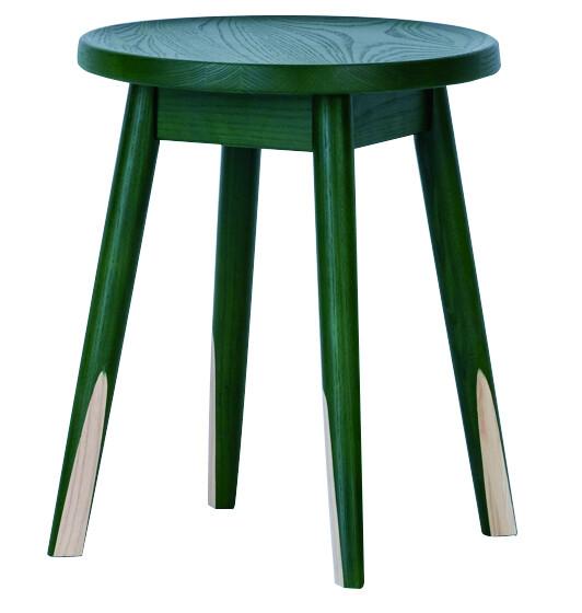 送料無料 スツール グリーン 1脚 腰掛け いす 椅子 ローチェアー 玄関 寝室 リビング キッチン コンパクト おしゃれ カラフル モダン 北欧 ミッドセンチュリー