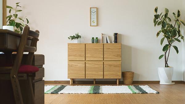 送料無料 キャビネット 幅110cm ナチュラル 収納棚 木製 天然木 キャビネット リビングボード キッチン リビング収納 本棚 おしゃれ 北欧 モダン シンプル 高級感