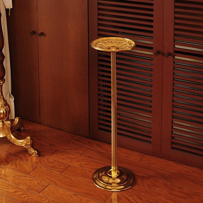 送料無料 イタリア製 灰皿 スタンド式 アシュトレイスタンド スタンド式灰皿 アンティーク クラシック エレガント 高級感 おしゃれ