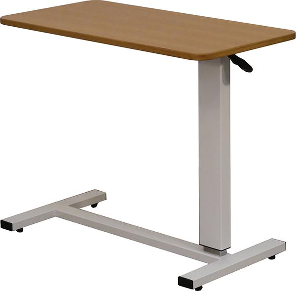 送料無料 ベッドテーブル マルチ昇降テーブル キャスター付き ナチュラル 介護 リフティングテーブル サイドテーブル 補助テーブル ソファーサイドテーブル パソコンデスク 作業台 机 おしゃれ 北欧 シンプル 高級感