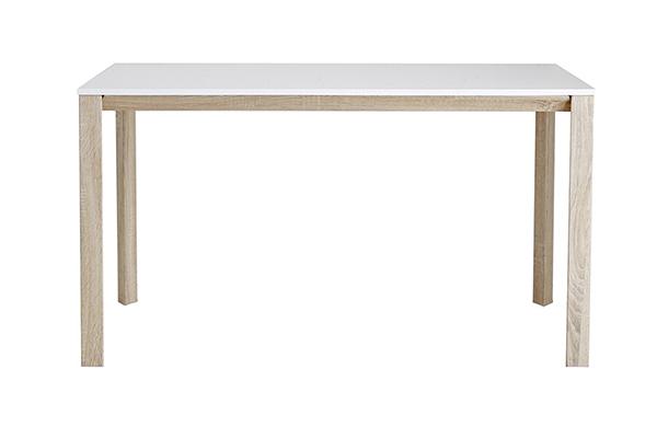 ダイニングテーブル単品 4人掛け 4人用 机 食卓テーブル 幅130cm スチール 作業台 リビング おしゃれ シンプル スタイリッシュ 北欧 ナチュラル カントリー 高級感