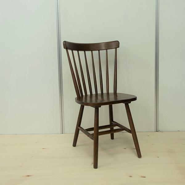 ウィンザーチェア 単品 ダイニングチェア 木製 ダイニングチェアー 椅子 いす ダイニング チェア 食卓椅子 北欧 カフェ風 ミッドセンチュリー カントリー ナチュラル おしゃれ ラバーウッド ウォールナット色