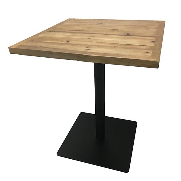 古材 カフェテーブル 幅60cm カウンターテーブル サイドテーブル コーヒーテーブル ダイニングテーブル 木製 机 作業台 ブルックリン インダストリアル 西海岸 男前インテリア おしゃれ