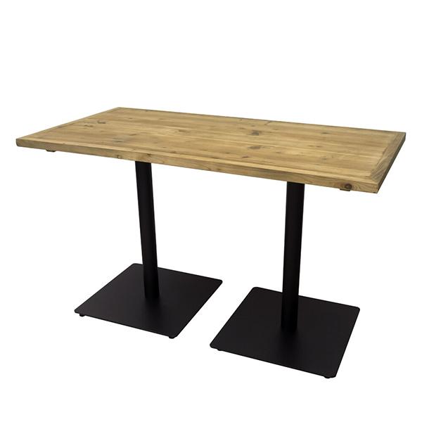 古材 カフェテーブル 幅120cm カウンターテーブル テーブル コーヒーテーブル ダイニングテーブル 木製 机 作業台 ブルックリン インダストリアル 西海岸 男前インテリア おしゃれ