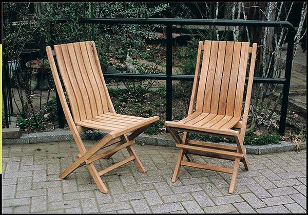 折り畳みデラックスチェア 1脚のみ 折りたたみ 木製 チーク ガーデンチェアー 1人掛け いす 椅子 ひとりがけ チェア テラス カフェ おしゃれ モダン レトロ 高級感
