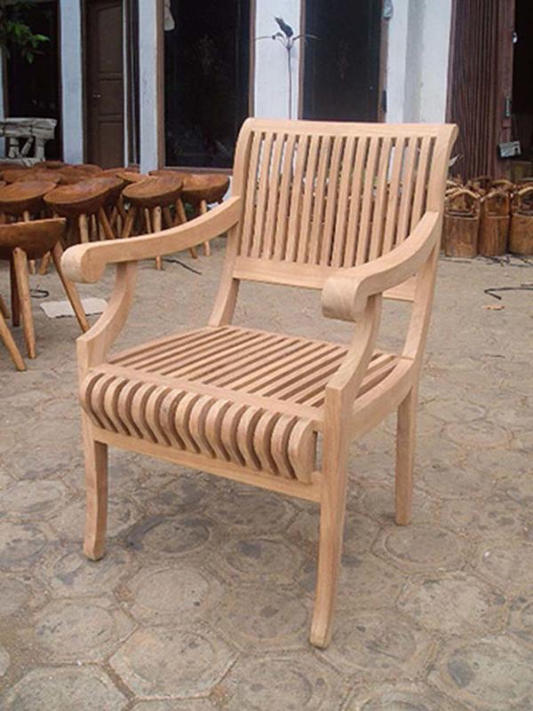 カステルチェア 木製 チーク ガーデンチェアー 1人掛け いす 椅子 ひとりがけ チェア テラス カフェ おしゃれ モダン レトロ 高級感