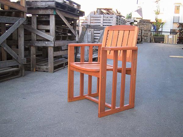 ランカウェイチェア 木製 ガーデンチェアー 1人掛け いす 椅子 ひとりがけ チェア テラス カフェ おしゃれ モダン レトロ 高級感