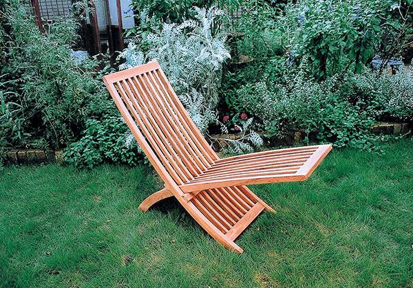 スライドチェア 木製 チーク ガーデンチェアー 1人掛け いす 椅子 ひとりがけ チェア テラス カフェ おしゃれ モダン レトロ 高級感