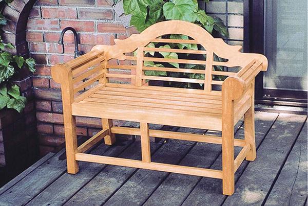 ミニ貴族ベンチ 木製 ガーデンチェアー ガーデンベンチ 長椅子 イス チェア チェアー 椅子 おしゃれ アンティーク モダン レトロ