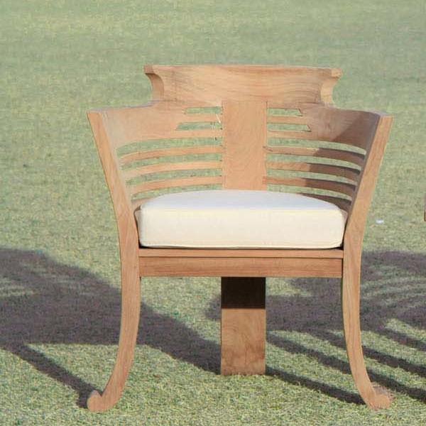 ロマンティックチェア 木製 チーク ガーデンチェアー 1人掛け いす 椅子 ひとりがけ チェア テラス カフェ おしゃれ モダン レトロ 高級感