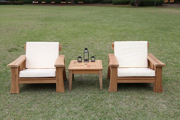 ヒーリングチェア 木製 チーク ガーデンチェアー 1人掛け いす 椅子 ひとりがけ チェア テラス カフェ おしゃれ モダン レトロ 高級感