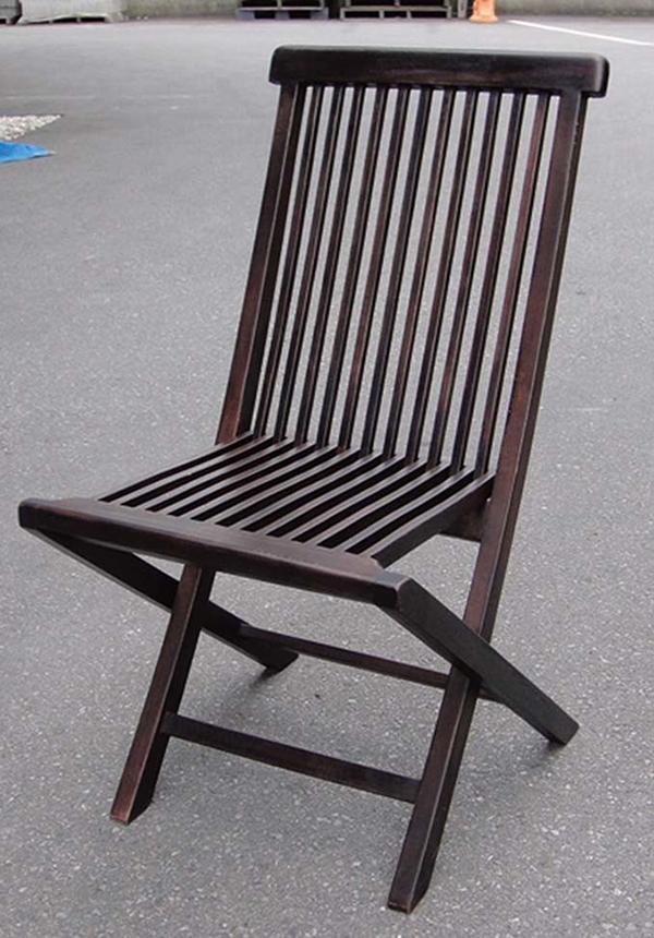 ポピュラー折り畳みチェア(2脚入) 木製 ダイニングチェアー カフェ 折りたたみ 食卓椅子 いす イス リビング おしゃれ モダン レトロ アンティーク