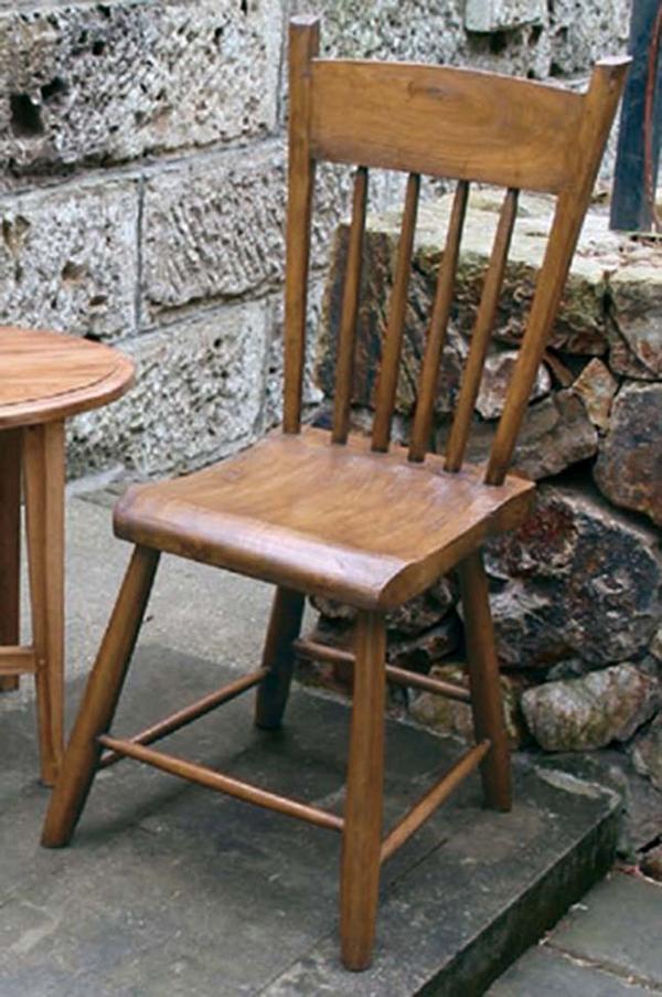 ニューウエスタンチェア 木製 チーク ガーデンチェアー 1人掛け いす 椅子 ひとりがけ チェア テラス カフェ おしゃれ モダン レトロ 高級感