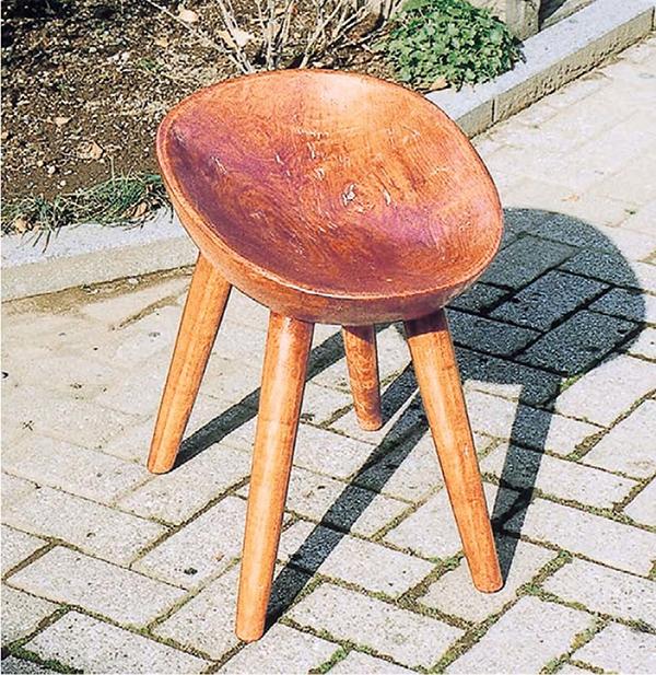 エッグチェア 木製 ダイニングチェアー カフェ 食卓椅子 いす イス リビング おしゃれ モダン レトロ アンティーク