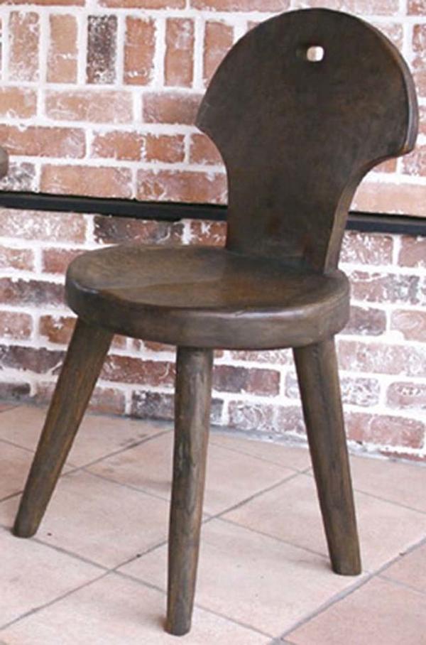 センスチェア 木製 ダイニングチェアー カフェ 食卓椅子 いす イス リビング おしゃれ モダン レトロ アンティーク