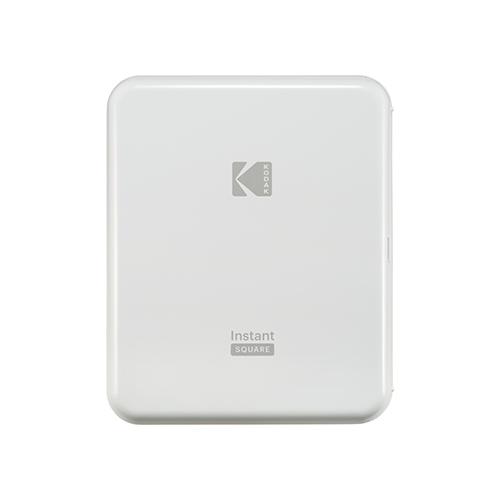 ハガキサイズの印刷が可能なインスタントドックプリンター KODAK インスタントスクエアプリンター 送料無料カード決済可能 P300WH イエロー 国内送料無料 ホワイト コダック