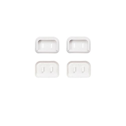サンワサプライ プラグ安全カバー 2P:L型用 ランキング総合1位 4個入り 40%OFFの激安セール TAP-PSC2N