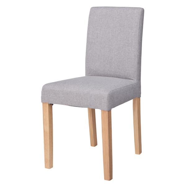 ダイニングチェア 天然木 食卓チェアー 食卓椅子 いす イス 椅子 ダイニングチェアー ファブリック レトロ モダン 北欧 ブルックリン 西海岸 男前 インテリア おしゃれ アンティーク カントリー かわいい 高級感 グレー