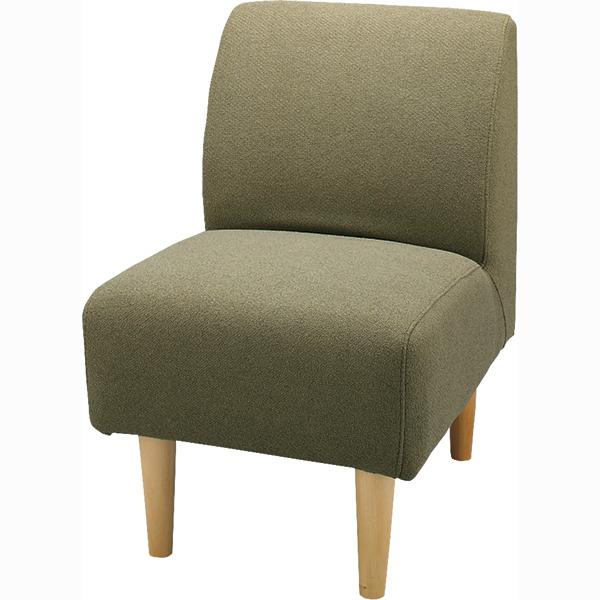 ソファ 1人掛け ソファー コンパクト ダイニングソファー ファブリック 布張り 脚付き 一人掛け 1人用 イス 椅子 北欧 モダン レトロ カフェ風 おしゃれ かわいい リビング 一人暮らし グリーン